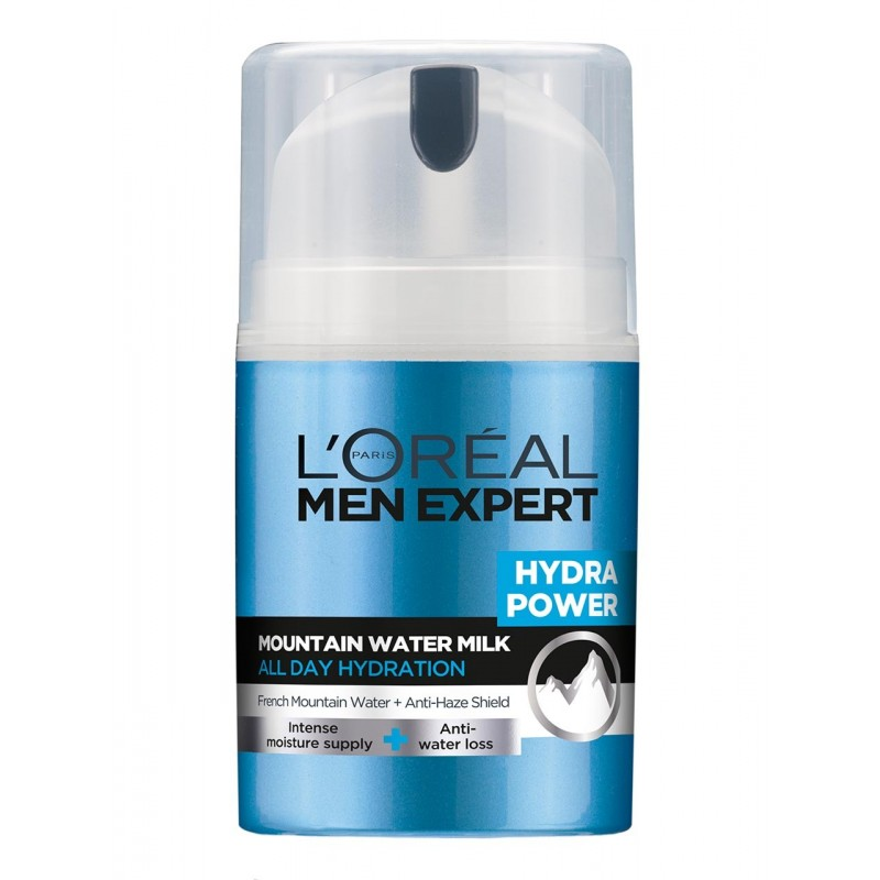 L'Oréal Men Expert Hydra Power Mountain Water Milk Feuchtigkeitsmilch 50 ml