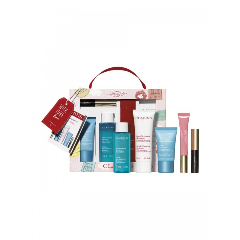 Clarins With Love From Suitcase Set