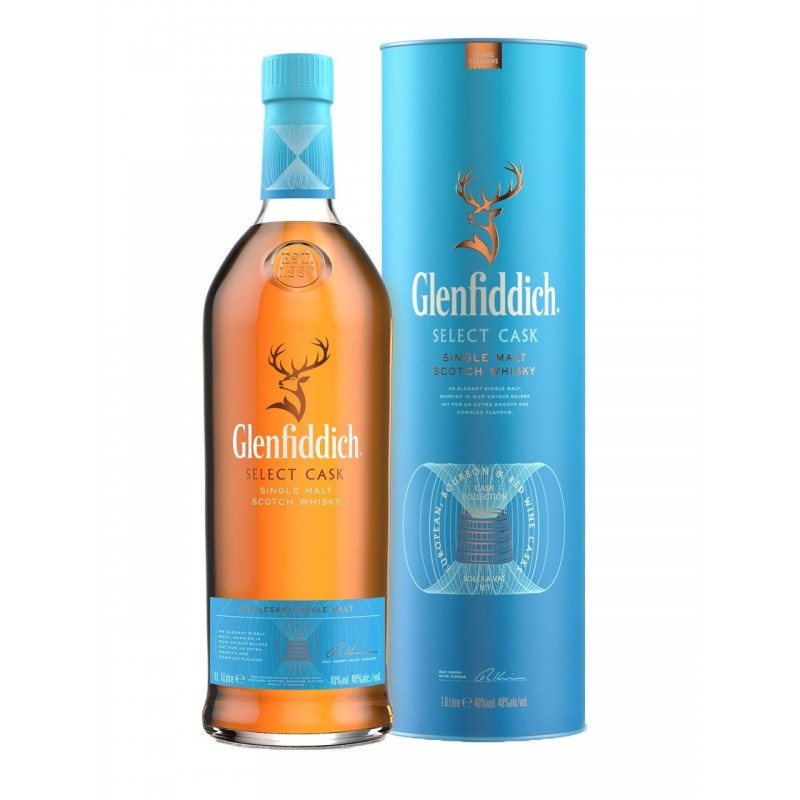 Glenfiddich Select Cask 40% 1L Tube